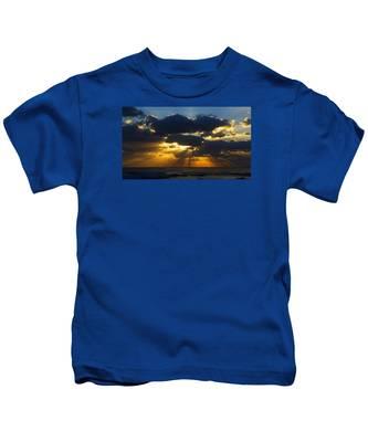 Spiritually Uplifting Sunrise Kids T-Shirt