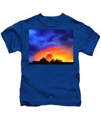Sunset Extraordinaire Kids T-Shirt