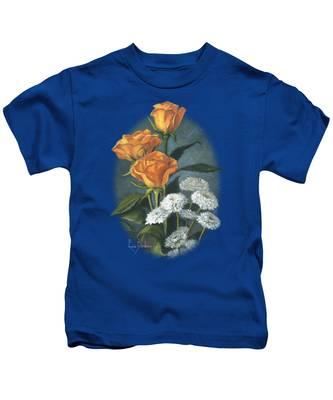 Three Roses Kids T-Shirt