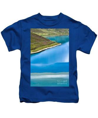 Turquoise Water Kids T-Shirt