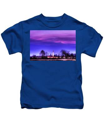 View Of San Giorgio Lomellina Kids T-Shirt
