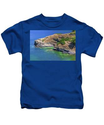 Aegean Coast In Bali Kids T-Shirt