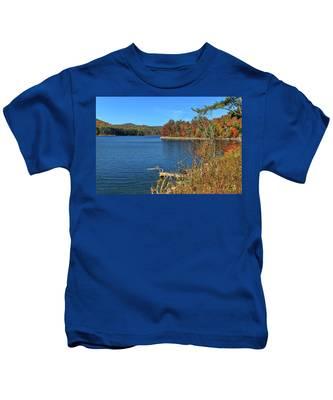 Autumn In North Carolina Kids T-Shirt