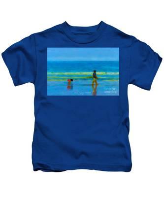 Beach Blues Kids T-Shirt