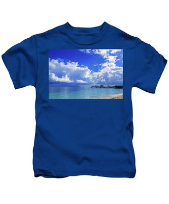 Massive Caribbean Clouds Kids T-Shirt