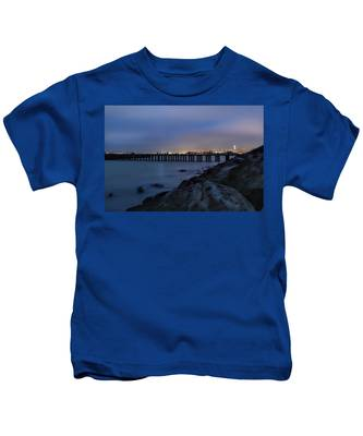 Night Pier- Kids T-Shirt