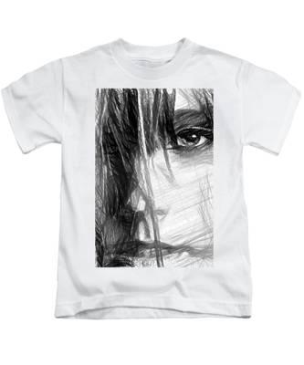 Facial Expressions Kids T-Shirt
