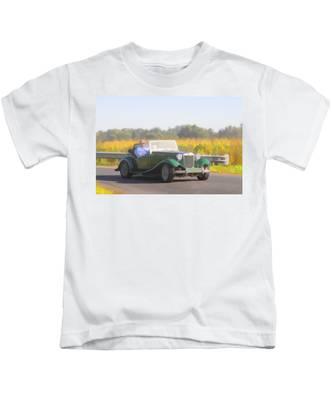 1953 Mg Td Kids T-Shirt