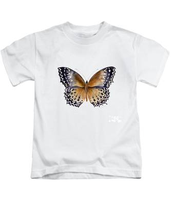 77 Cethosia Butterfly Kids T-Shirt