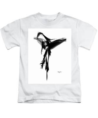 Abstract Flamenco Kids T-Shirt