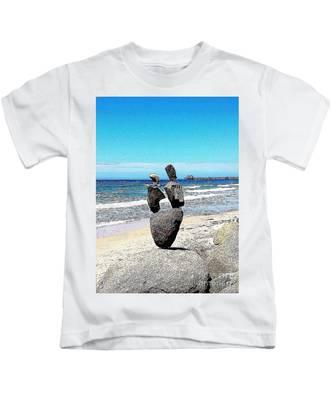 Kids T-Shirt featuring the photograph Balance  by Bridgette Gomes