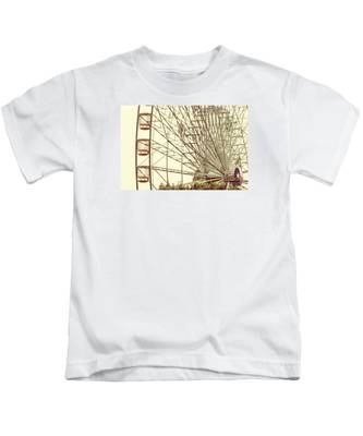 Ferris Wheel Kids T-Shirt
