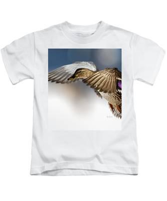 Flight Of The Mallard Kids T-Shirt