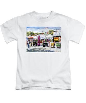 Greenwich Art Fair Kids T-Shirt