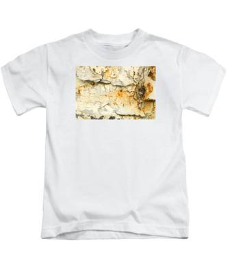Rust And Peeling Paint Kids T-Shirt
