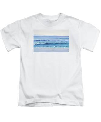 Summer Seascape Kids T-Shirt