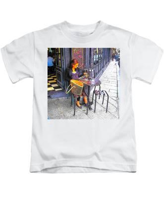 The Brasserie In Paris Kids T-Shirt