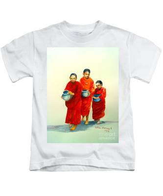 The Young Monks Kids T-Shirt