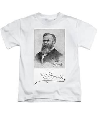 John Wesley Powell Kids T-Shirts