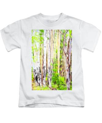 Out Of One Many Fractal Kids T-Shirt