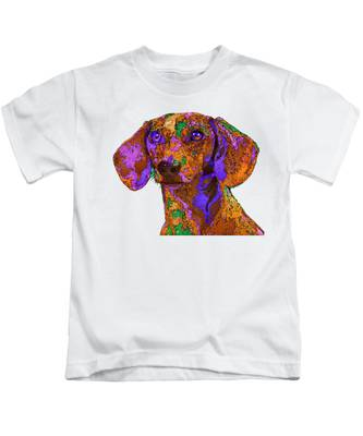 Chloe. Pet Series Kids T-Shirt