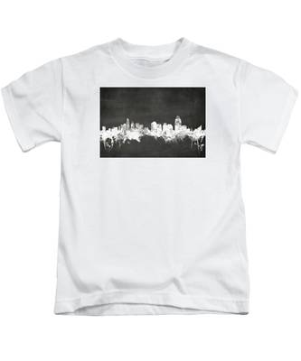 Cincinnati Ohio Skyline Kids T-Shirt