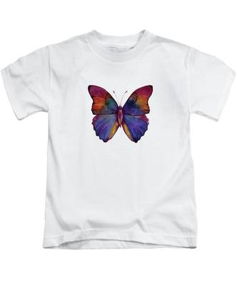 13 Narcissus Butterfly Kids T-Shirt