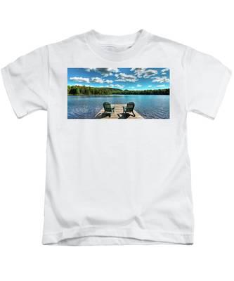 Adirondack Panorama Kids T-Shirt
