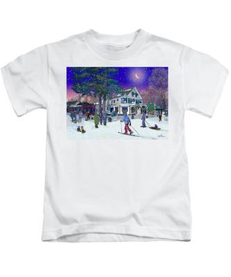 After The Storm At Woodstock Inn Kids T-Shirt