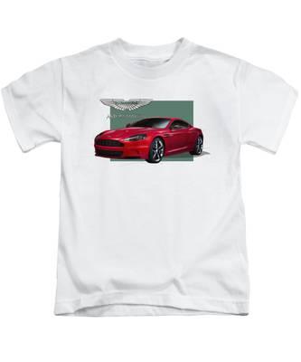 Aston Martin Kids T-Shirts
