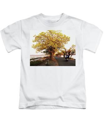 Autumn Causeway Kids T-Shirt