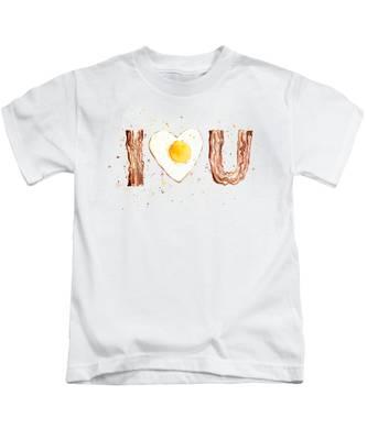Kitchen Art Kids T-Shirts