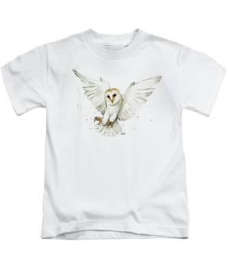 Birds Of Prey Kids T-Shirts