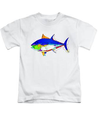 Bluefin Tuna  Kids T-Shirt