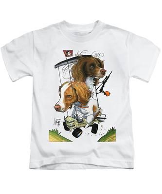 Hunting Dogs Kids T-Shirts