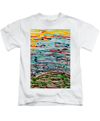 Brighter Day 2 Of 2 Kids T-Shirt