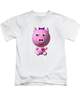 Oink Pig Kids T-Shirt