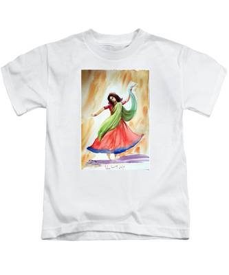 Dance Of Abandon Kids T-Shirt