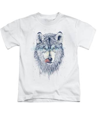 Animal Portrait Kids T-Shirts