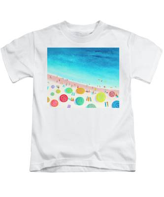 Dreaming Of Sun, Sand And Sea Kids T-Shirt