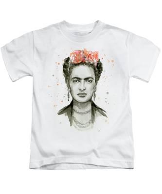 Frida Kahlo-Silhouette-Officiel Garçons T Shirt