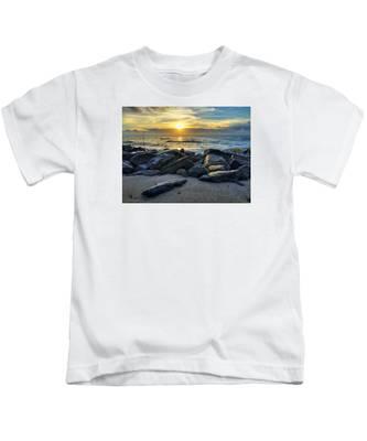 Glowing Rocks Kids T-Shirt