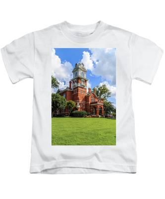 Gwinnett County Historic Courthouse Kids T-Shirt