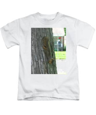 Hanging On Kids T-Shirt