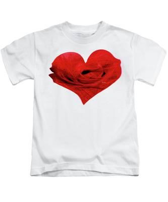 Heart Sketch Kids T-Shirt