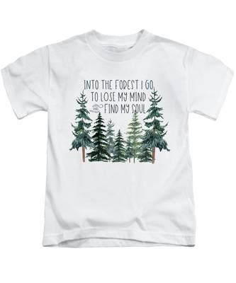 Greenery Kids T-Shirts