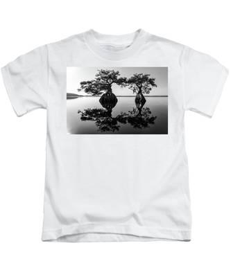 Lake Disston Old Couple Kids T-Shirt