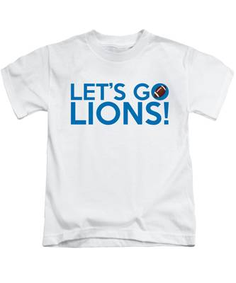 Let's Go Lions Kids T-Shirt