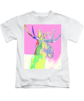 Moosemerized Kids T-Shirt