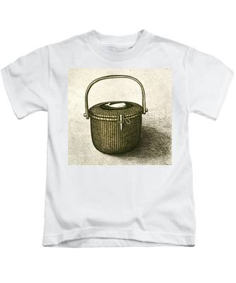 Basketry Kids T-Shirts